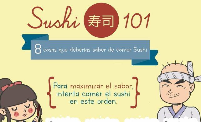8 cosas que deberías saber de comer Sushi