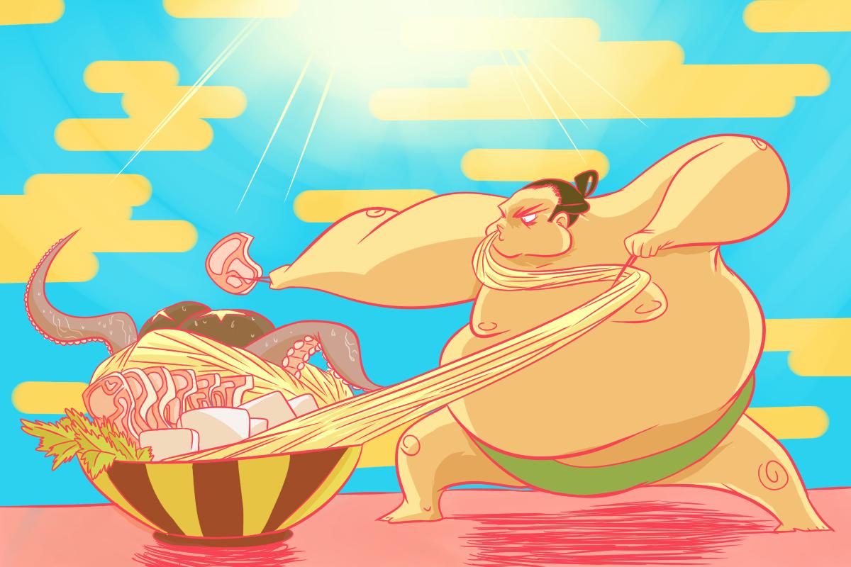 Chankonabe: El alimento de los luchadores de sumo