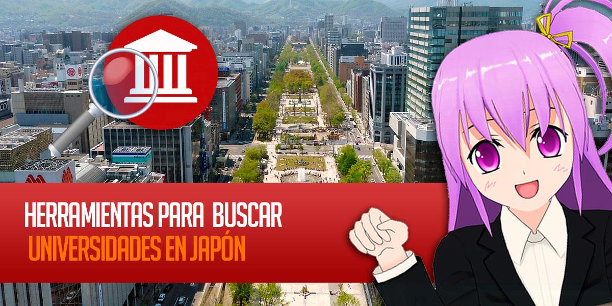 Herramientas para buscar Universidades en Japón