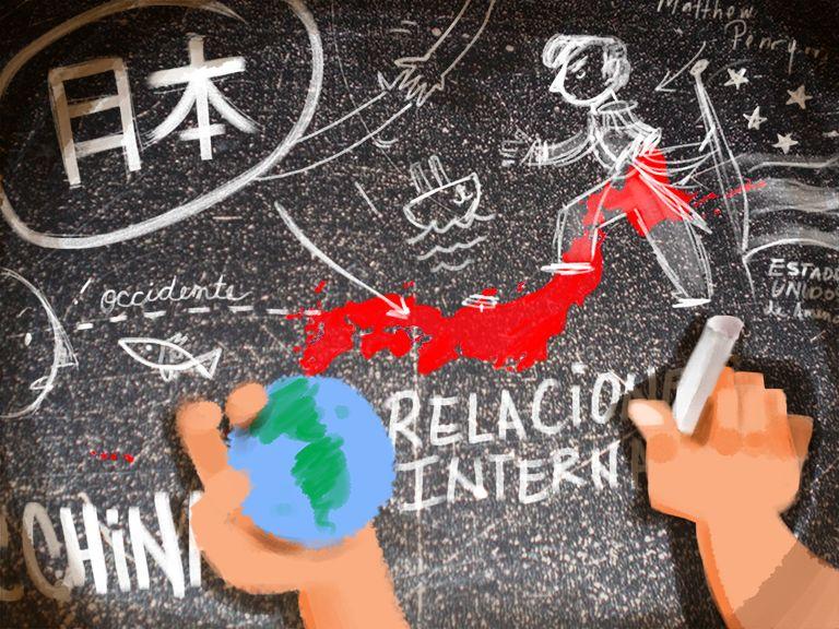 Japón, Asia y el mundo: Relaciones internacionales, parte 1