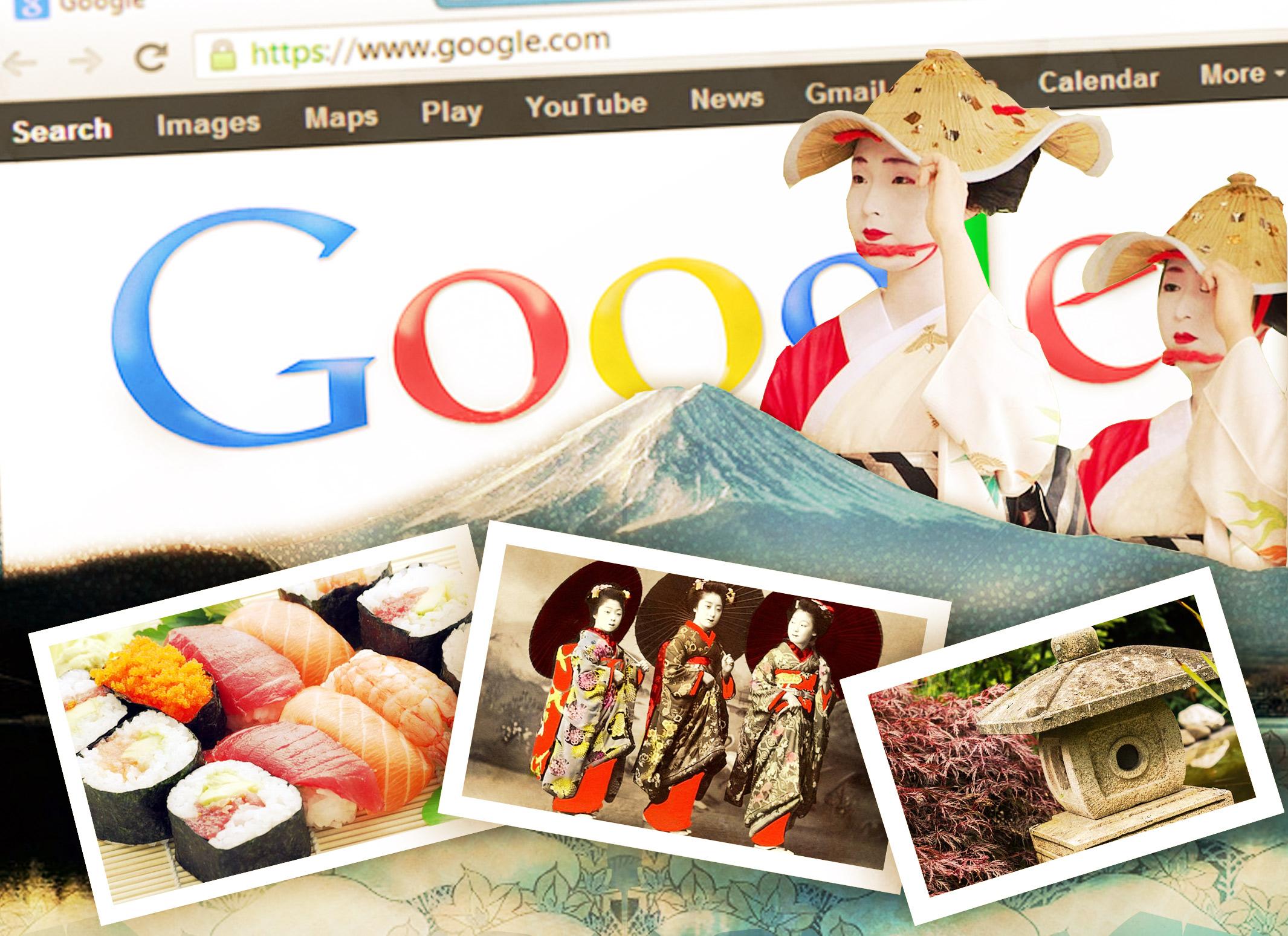 Usa Google imágenes para aprender de cultura japonesa